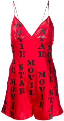 Moschino Movie Star Babydoll Dress