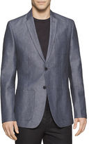 Calvin Klein Linen and Cotton Blazer
