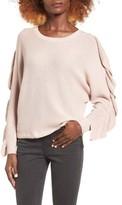 Leith Women's Ruffle Sleeve Sweater