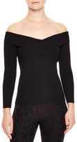 Sandro Women's Jova Wrap Front Sweater