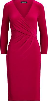 Ralph Lauren Surplice Jersey Dress