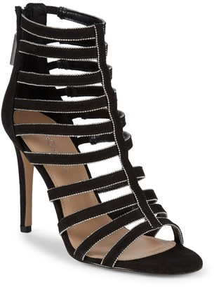 BCBGeneration Jacqueline Micro Suede Caged Sandals