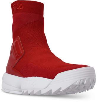 Fila Women Disruptor Ii Stretch Casual Sneakers from Finish Line