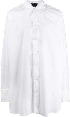 Ann Demeulemeester Oversized Long-Sleeve Shirt