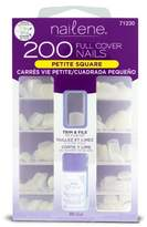 Nailene Petite Nails includes 200 Nails