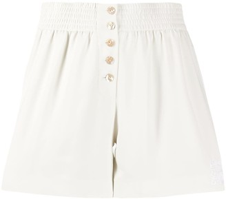 Kenzo High Waist Elasticated Shorts