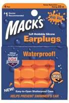 Macks Mack's Pillow Soft Kids Silicone Earplugs - 6 Pairs