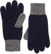 Colourblock Knitted Gloves
