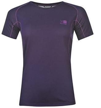 Karrimor Womens Aspen Tech T Shirt Ladies Short Sleeves Tee Top Royal Purple 18 (XXL)