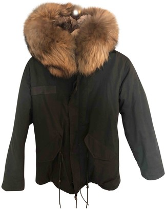 Ducie Khaki Cotton Jacket for Women