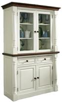 Home Styles Monarch Buffet and Hutch - White/Oak