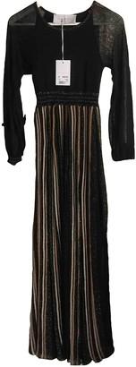 Ne-net Ne.net Gold Cashmere Dress for Women