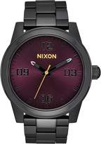 Nixon Women's 'G.I. SS' Quartz Stainless Steel Casual Watch, Color:Black (Model: A919192-00)