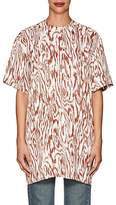Victoria Beckham Women's Wood-Print Twill Tunic
