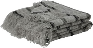Wallace Cotton Check New Zealand Wool Blanket