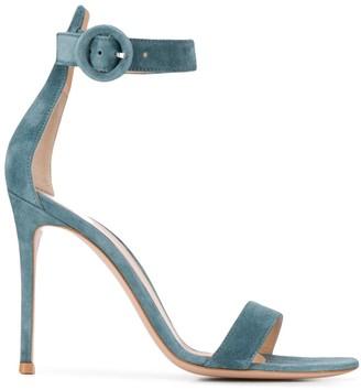 Gianvito Rossi Ankle Strap Stiletto Heels