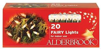 Nōma AK522GC Shadeless Christmas Fairy Lights with Green Cable, Glass, Multi-colour, 20-Piece