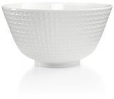 Martha Stewart Collection Martha Stewart Collection Whiteware Embossed Medium Bowl