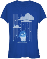 Fifth Sun Inside Out Sadness Royal Rain Tee - Juniors