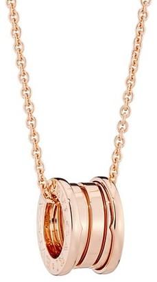 Bvlgari B.zero1 18K Rose Gold Necklace