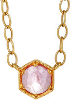 Cathy Waterman Women's Hexagonal Pendant Necklace
