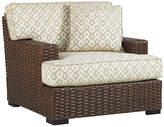 Tommy Bahama Pacifica Lounge Chair - Ivory/Espresso