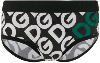 Dolce & Gabbana Printed Monogram Briefs