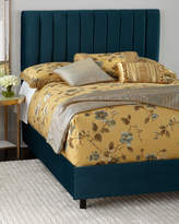 Mystic King Channel-Tufted Bed