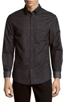 Ben Sherman Brushed Long-Sleeve Cotton Shirt