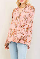 Entro Blush Floral Top