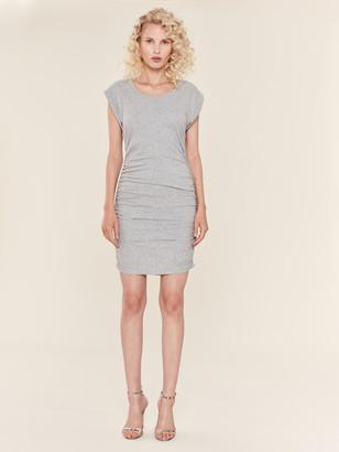 Splendid Ruched Side Midi Dress