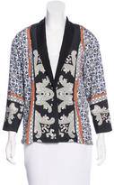 Clover Canyon Ornate Print Shawl-Lapel Blazer