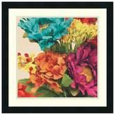Amanti art Pop Art Flowers I Framed Wall Art