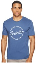 Brixton Newport Short Sleeve Premium Tee Men's T Shirt