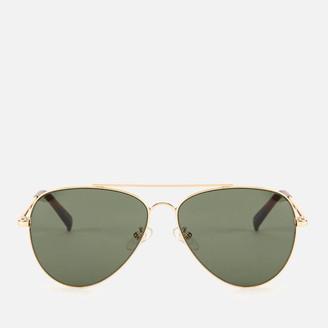 Le Specs Women's Fly High Sunglasses - Gold/Khaki