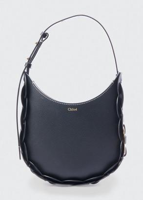 Chloé Darryl Small Leather Hobo Bag