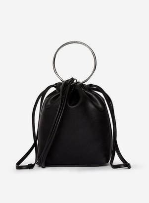 Dorothy Perkins Womens Lola Skye Black Lumi Drawstring Bag, Black