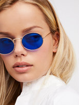 Free People Got A Crush Oval Sunnies