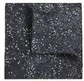 Hugo Boss Pocket sq. cm 33x 33 Silk Patterned Pocket Square One Size Black