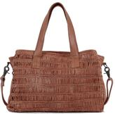 Day & Mood Braided Leather Satchel
