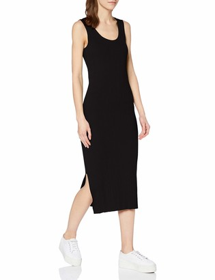 Superdry Women's Sahara Knit Midi Split Dress