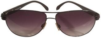 Calvin Klein Black Plastic Sunglasses