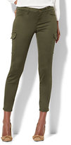 New York & Co. The Crosby Pant - Slim-Leg Cargo - Olive