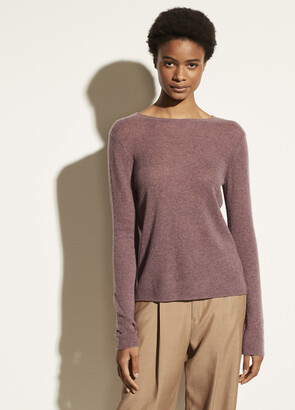 Vince Cashmere Trimless Pullover