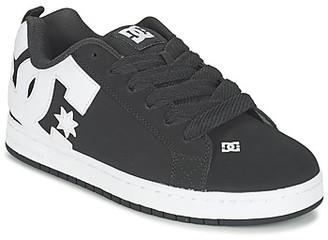 DC COURT GRAFFIK men's Skate Shoes (Trainers) in Black
