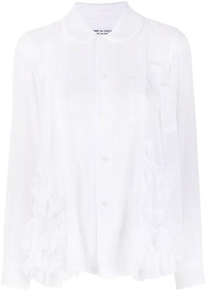 Comme des Garçons Comme des Garçons Ruffled Long-Sleeve Shirt