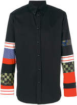 Givenchy multi print sleeve shirt