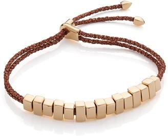 Monica Vinader GP Coral Linear Ingot Friendship Bracelet