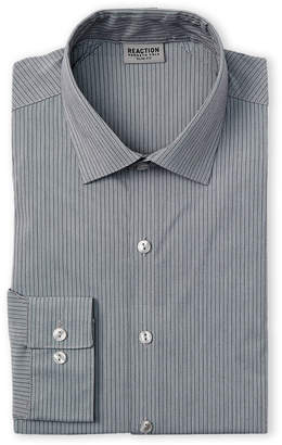 Kenneth Cole Reaction Shadow Stripe Slim Fit Dress Shirt