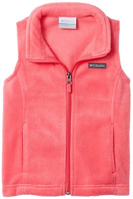 Columbia Kids Benton Springstm Fleece Vest (Toddler) (Bright Geranium) Girl's Clothing